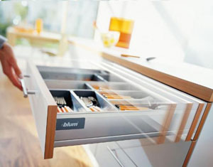 Blum soft close kitchen drawers